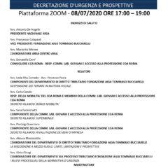 Emergenza Covid-19 in materia tributaria. Decretazione d'urgenza e prospettive