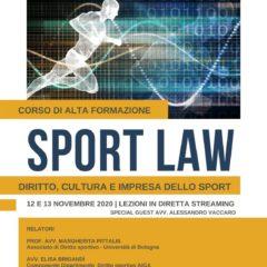 Sport Law | Diritto, cultura e impresa dello sport