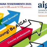 BE YOUNG! BE AIGA! – campagna tesseramento 2021