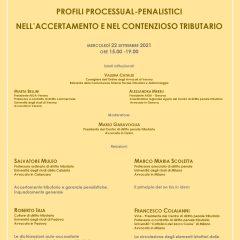 Profili processual-penalistici nell'accertamento e nel contezioso tributario