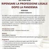 Ripensare la professione legale dopo la pandemia